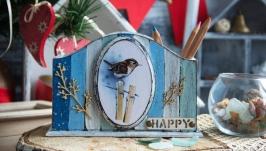 Карандашница ′Счастье в тебе′