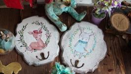 Набор вешалок-панно настенных ′Детство′