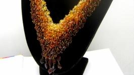 Украшение из натурального янтаря′Янтарное′