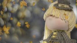 Кукла текстильная ручной работы ′Осень′