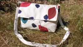 Сумка текстильная через плечо