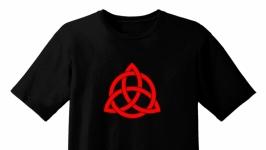 Эксклюзивная футболка. Трикстель. Символы викингов
