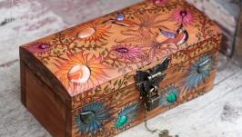 Шкатулка ′Hummingbirds day′