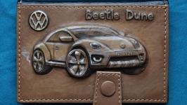 Обложка для водительских прав ′Volkswagen Beetle Dune′