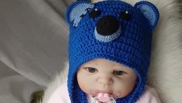 Шапочка для новорожденного ′Мишка Тедди 2′