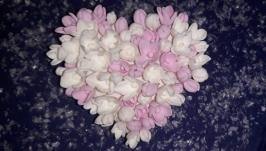 брошка ′ Зимова ніжність′Японська полімерна глина deco clay.