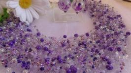 Колье Фиолетовая россипь