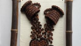 Картина, панно ′Влюбленным в кофе′