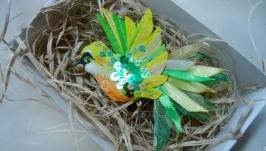 Зелена пташка