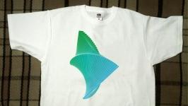 Эксклюзивная футболка. Абстрактная скульптура