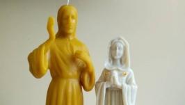 Свечи Обрзы. Иисус Христос. Свечи - обереги . Свечи святых.