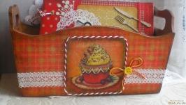 Короб для кухни ′Капкейк′