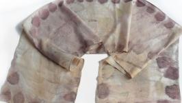 Шовковий шарф ТРОЯНДОВИЙ АРОМАТ