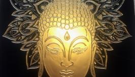 Картина ′Золотой Будда′