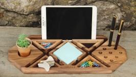 Подставка Для Телефона iPhone Планшета iPad Смартфона Органайзер Подарок
