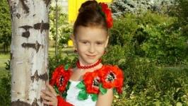 Детское нарядное платье ′Украинский шик′