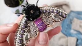 Фиолетовая цикада