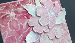 Открытка ′Цвет вишни′