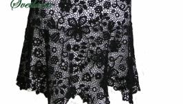 Платье вязаное крючком ′Аманда′. Ирландское кружево