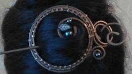 Заколка-фибула ′Загадка′
