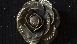 Брошьзаколка ′Роза′