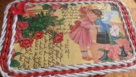 шкатулка для дівчинки