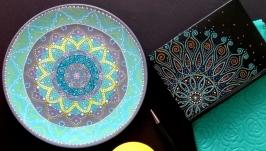 ′Бирюза′ Декоративная тарелка