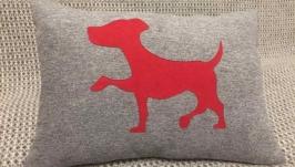 Декоративная подушка Собачка