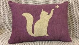 Декоративная подушка Котёнок
