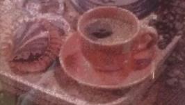 Алмазная вышивка ′Кофе′
