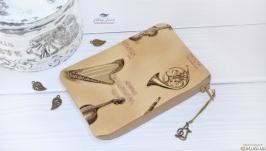 Косметичка-кошелек Музыкальные инструменты