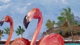 Фламинго-пара