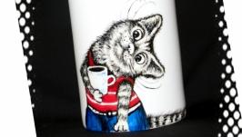 Чашка с росписью
