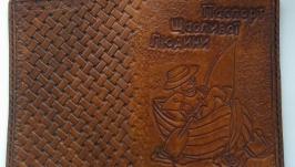 Обкладинка на паспорт з ексклюзивним малюнком.