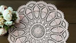 Салфетка розовая, 3d, текстурированная объемная салфетка