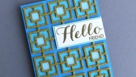 Открытка ′Hello′