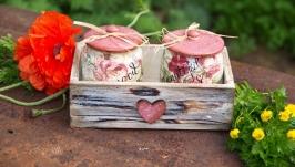 набор для кухни с розами