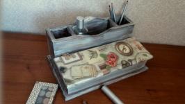 Підставка-органайзер для письмового приладдя Вінтажний фльор