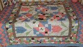 Детское одеяло пэчворк