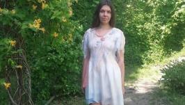 Платье-туника ′Ванильное искушение′
