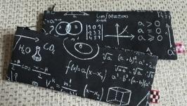тут изображено Пенал математический handmade