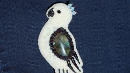 Брошь ′Попугай′