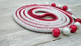 Лариат ′Снежно-красный′