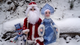 Дед Мороз и Снегурочка, Снеговик