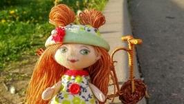 Кукла ручой работы Забава