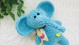 Зефирный плюшевый слоник.