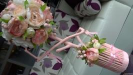Топиарии, интерьерное деревце ′ Цветочная ваниль′.