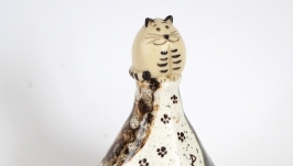 Колокольчик ′Кот′.Фарфор