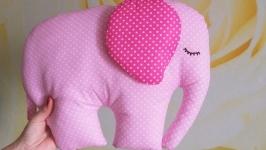 Подушка - сплюшка - игрушка Слоник