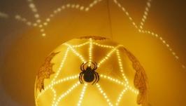 Светильник′Паутинка′.Фарфор.